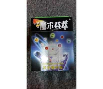 Colour explosion dice