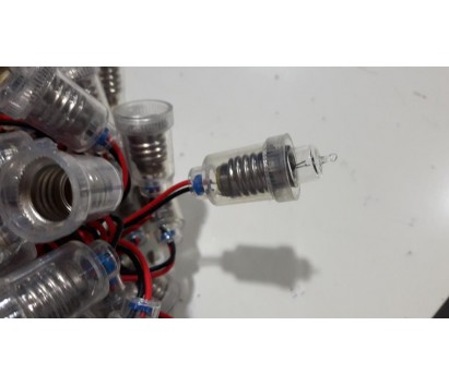 bulb holder with wires