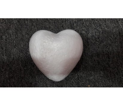 100 mm 3D foam heart