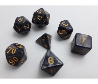 Dice set of 7
