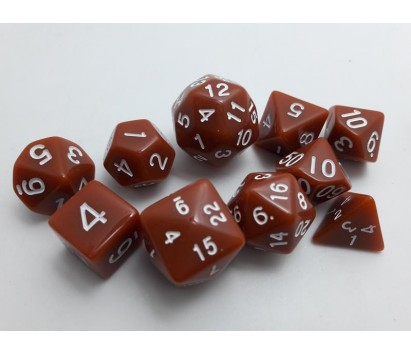 Dice set of 10