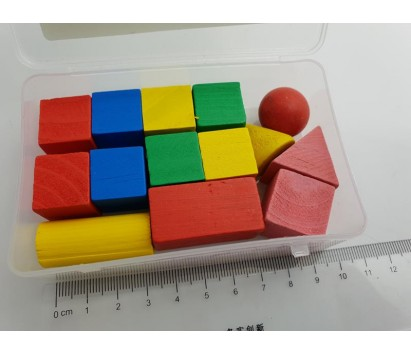 3D geometric figure set (14 pcs)