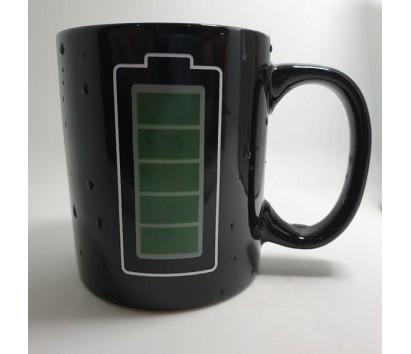 temperature sensing mug
