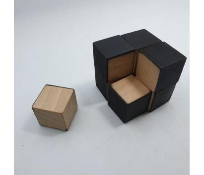 black cube 2x2x2