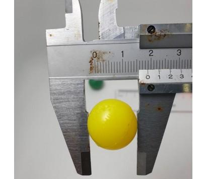 1.9 cm rubber ball