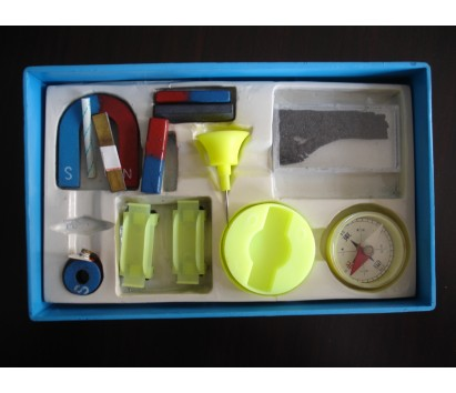 Magnetic experiment set